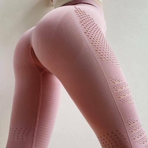 Seamless Yoga Pants Lady High Waist Gym Sportswear Training Fitness Leggings HOT