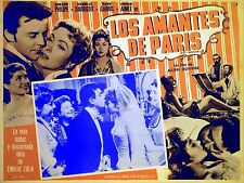 POT-BOUILLE 1957 Gerard Philipe Danielle Darrieux EMILE ZOLA MEXICAN LOBBY CARD