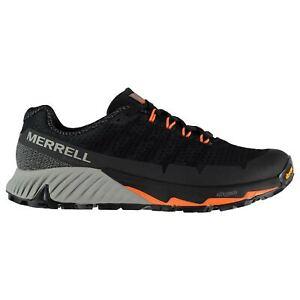 Merrell-Pic-Flex-3-Baskets-Homme-Gents-Basse-Lacets-fixe-Cheville-rembourree-Col