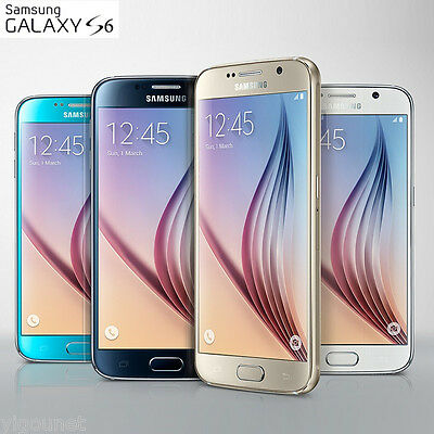 Unlocked Samsung Galaxy S6 5.1'' 32GB 16MP 4G LTE Mobile Smart Phone +Warranty