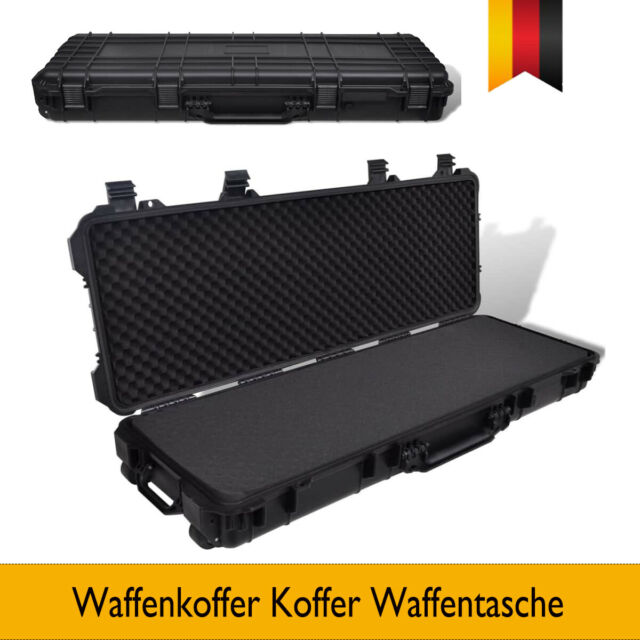 Waffenkoffer Koffer Waffentasche Tasche Investition Wasserdichter Kunststoff Neu