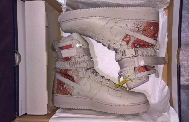 6a43d8376dab2c Nike SF Af1 Air Force 1 Special Field Desert Camo 864024202 Authentic 13