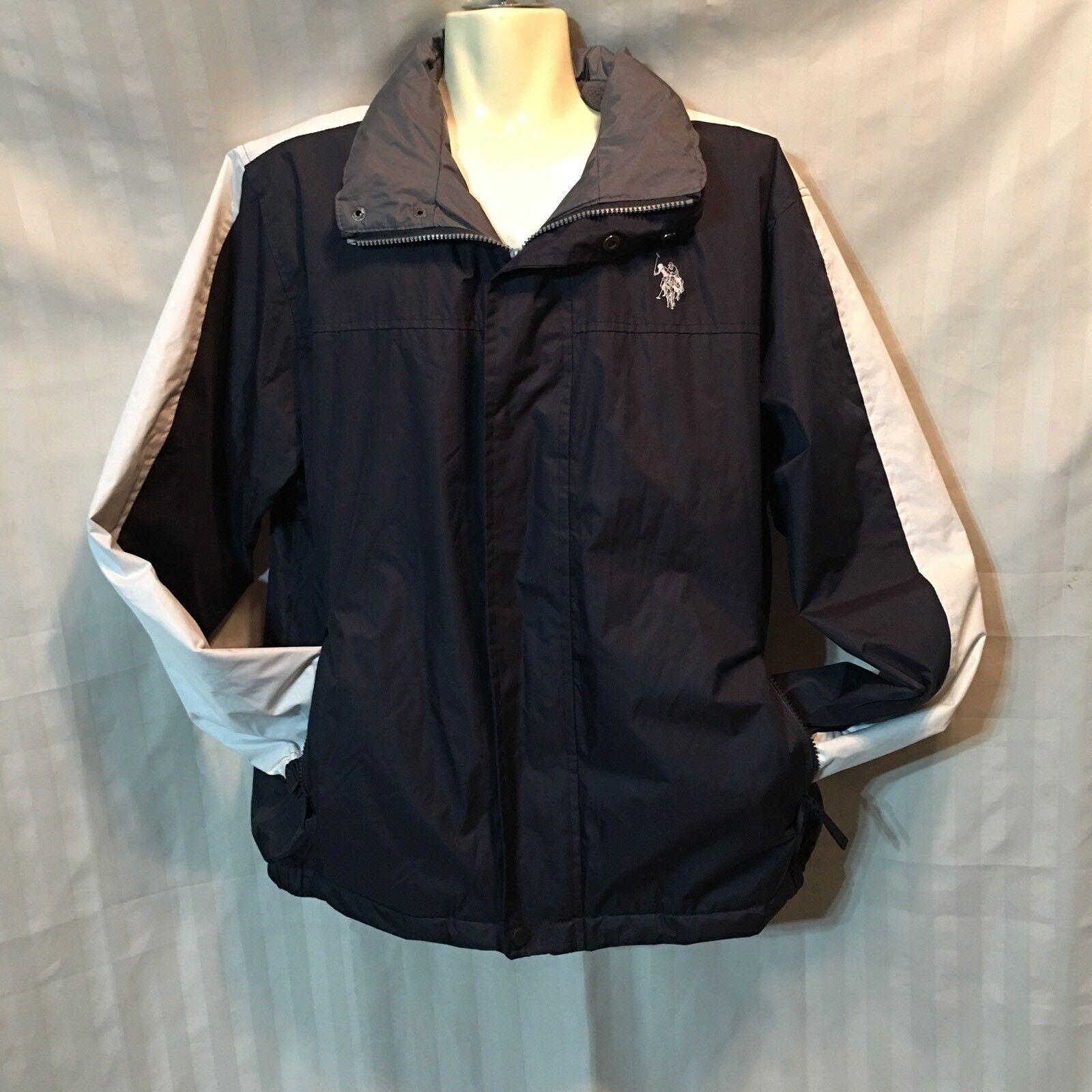 d68a54bba US Polo Association Coat Lined Hood Large Men's npuqbb3697-Coats ...