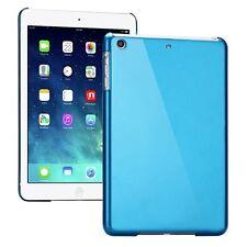 Backcover Blau durchsichtig für Apple iPad Air Cover Zubehör + Schutzfolie  Neu