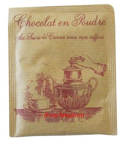10PAK Les Confitures a l'Ancienne Chocolate COCOA MIX French Travel AWARD WINNER