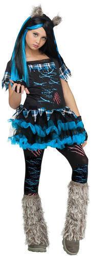Filles Deluxe Halloween Horreur Enfant Costume Enfant Enfants Costume
