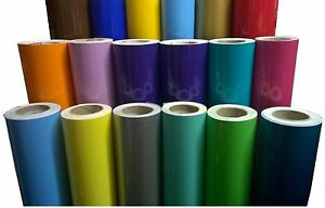 Stickers colours adhesive vinyl sticker shiny per meter ebay