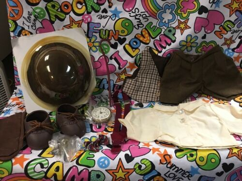"Outfit for 12"" 13"" Bears or Dolls Fits Bitty Baby Grandpa Set"
