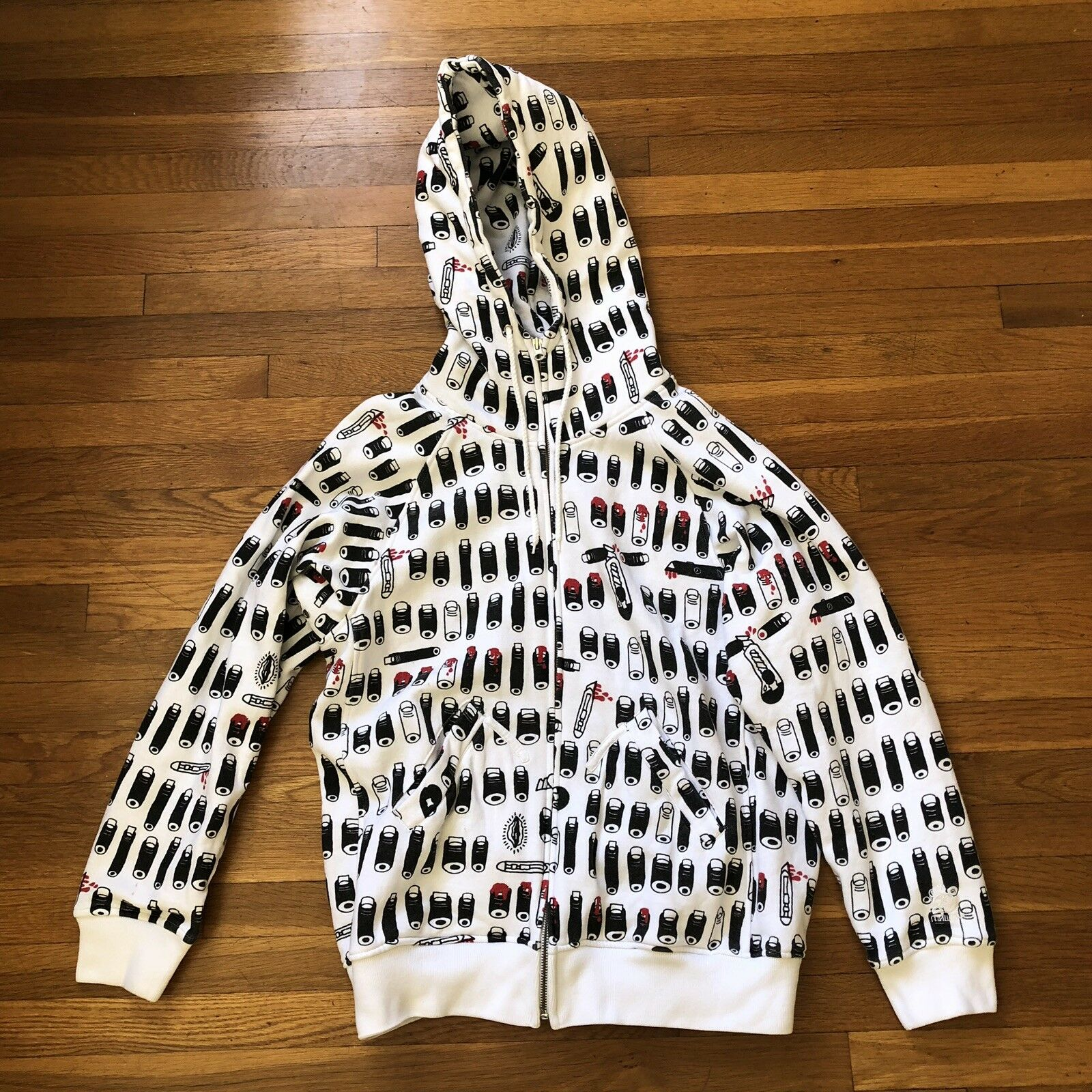 Mishka Hoodie 2006 M Supreme Actual Pain Flying Coffin Obey Odd Future HundROTs
