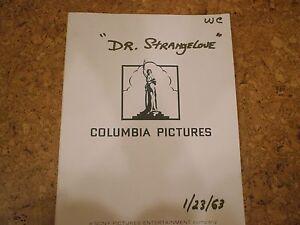 DR STRANGELOVE SCRIPT EPUB