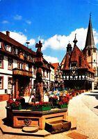 Michelstadt - das Herz des Odenwaldes , Ansichtskarte 1991 gelaufen