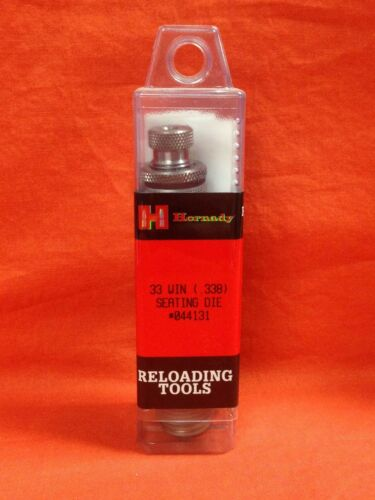 HORNADY Reloading Tools 33 Winchester .338 Seating Die #044131