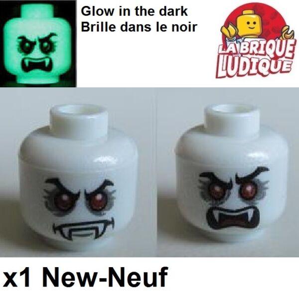 Acquista A Buon Mercato Lego - 1x Minifig Testa Head Vampiro Lord Vampyre Monster Ghost 3626cpb0757