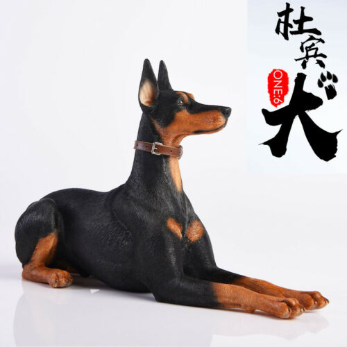 JxK Studios 1//6 JxK004 Doberman Pinscher Dog Animal Statue Collectible Toys Doll