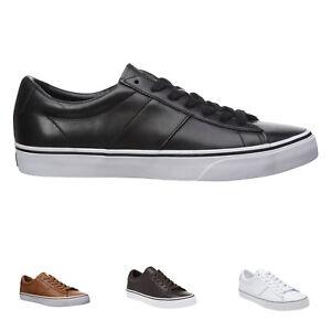Details zu Ralph Lauren Sayer Leder Casual Low top Lace up RLite Cushioning Herren Schuhe