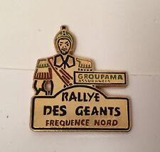 PIN'S CAR AUTO VOITURE RALLYE GEANTS GROUPAMA ASSURANCES RADIO FREQUENCE NORD