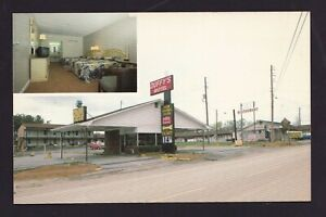 Postcard-of-DUFFY-039-S-MOTEL-amp-RESTAURANT-Calhoun-GA