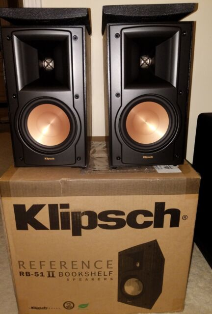 Klipsch RB 51 II Bookshelf Speakers Pair