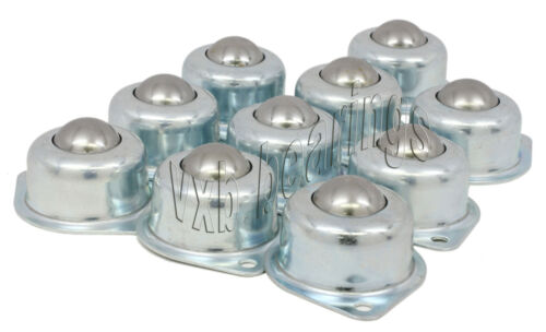 10 Flanged Mounted Ball Transfer Conveyor Table Top Lot