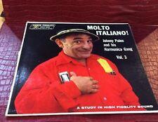 "Johnny Puleo and His Hamonica Gang Vol. 3 ""Molto Italiano!"" LP"