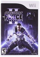 Star Wars: The Force Unleashed II 2 [Nintendo Wii, Lightsaber Force Action] NEW