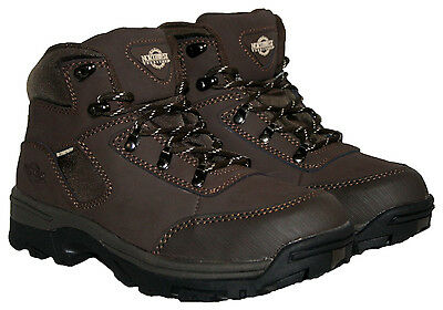 LADIES WALKING/HIKING/WINTER LACE UP BOOTS BROWN SIZES 3 - 8