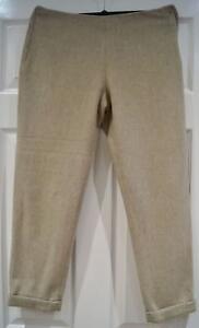 Mélange Crop Pantalon Laine D'hiver Ka Pure Pantalon doublé Paule Capri De 38 Beige PW8twXpF