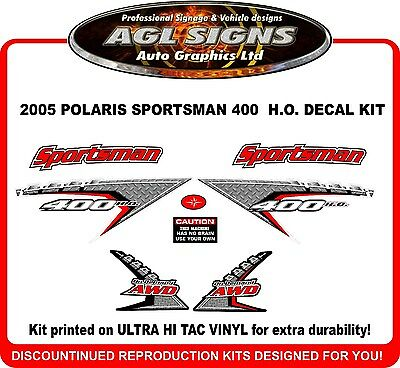 2005 POLARIS Sportsman 800 Twin EFI  Reproduction Decal Set