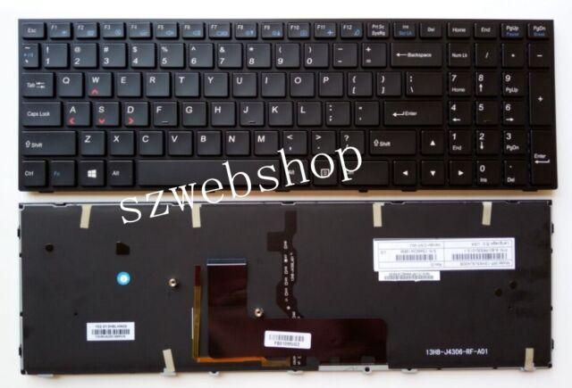 New for Clevo P651RE6 P650RE3 P650RE6 P650RG P670RG Gaming Keyboard US BACKLIT