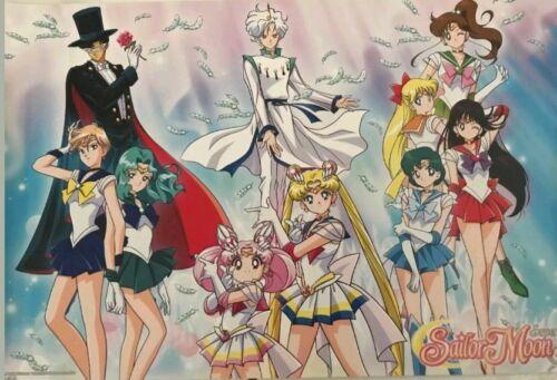 Anime Expo AX 18 2018 Viz Media Super Sailor Moon S Poster RARE Exclusive