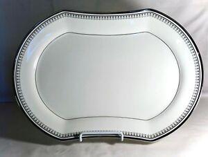 """Mikasa Seville 14 5/8"""" Oval Serving Platter"""
