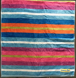 f3de8e29a72 Details about Summer Bay | Como Stripe Beach | Pool Bath Towel | Inspired  by Home and Away