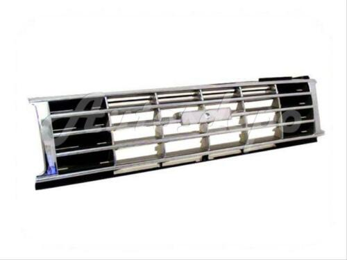 FOR Toyota 1984-1986 Pickup 2Wd Grille Chrome//Black For 3Pc Bumper Type