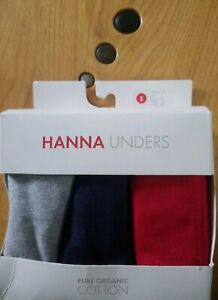 NWT HANNA ANDERSSON ORGANIC HIPSTER UNDERS WHITE XS 80 90 2T 3T