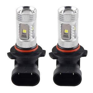 2pcs-6000K-LED-Light-H10-30W-Car-Fog-Daytime-Running-Lamp-Bulbs-9145-9140-1200LM