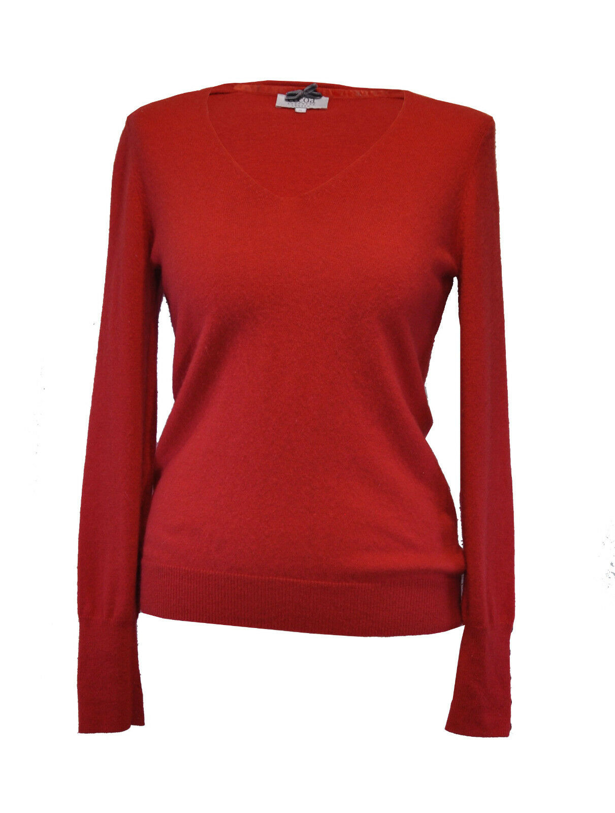 cacao  Pure cashmere pull  S  Rouge Orange