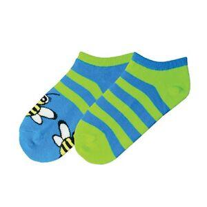 61771g Sonderabschnitt K Bell Mädchen Biene Streifen 2 Paar Packung Socken