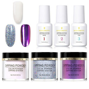6Bottles-Dipping-Hologarphic-Powder-Chameleon-Nail-Dip-Liquid-Kit-NO-UV-Needed