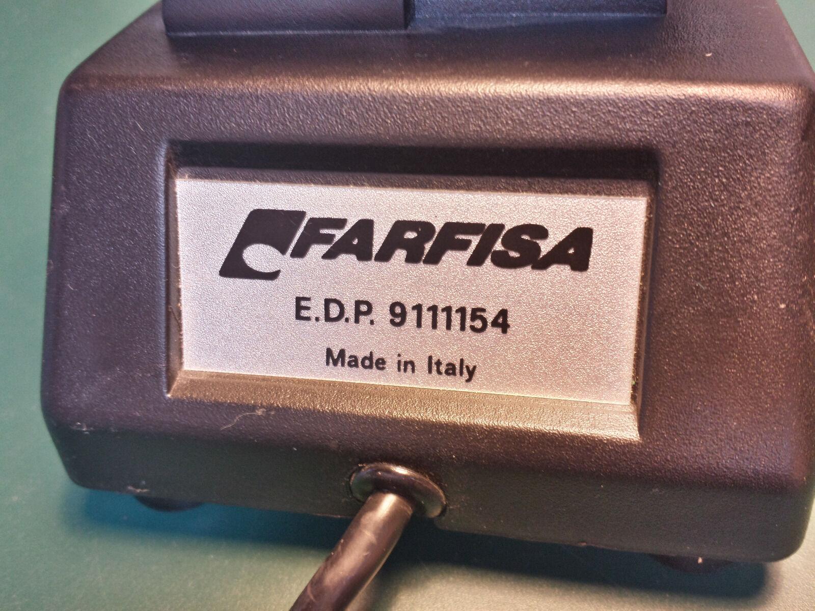 040 - Farfisa Pedal zur Lautstärkeverstellung - 6,3mm Klinke - 040