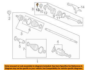 28X2.0 Genuine Honda Set-Ring 44319-S84-300