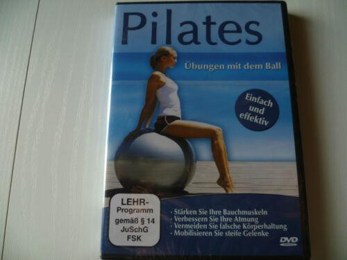 Pilates - Übungen mit dem Ball   Einfach und Effektiv  Neu und OVP