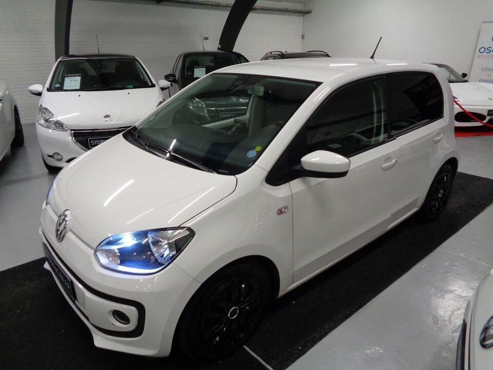 VW Up! 1,0 60 High Up! BMT Benzin modelår 2015 km 137000 Hvid