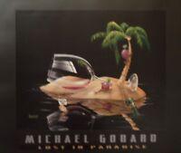 Michael Godard-lost In Paradise Wine-grape-vino-las Vegas-party-poster