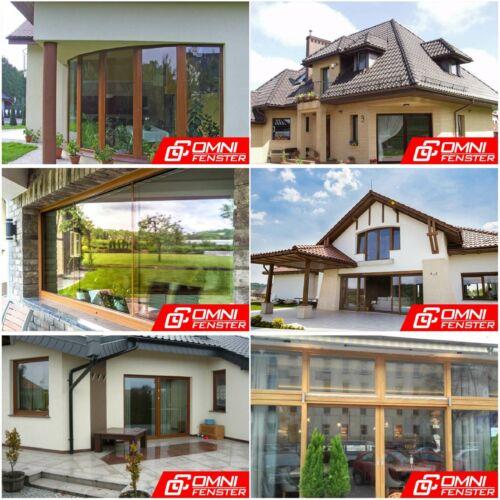 PVC-Fenster PVC 1700  Kunststofffenster auf Maß Varianten Polen für Gartenhaus
