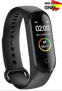 Smartband smartwatch pulsera inteligente actividad M4 similar a Mi Band 4