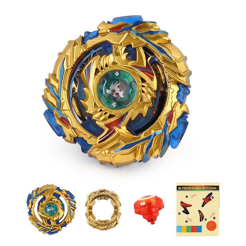 2018 Beyblade BURST Toys B-79 Starter Gold Drain Fafnir.8.Nt Toys Kids Gifts
