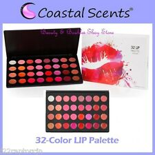 NEW Coastal Scents 32-Color LIP Palette FREE SHIPPING Gloss Stick Factory Sealed