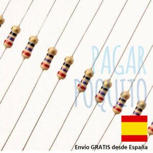 10-Resistencia-a-eleccion-1-4-W-ohmio-resistencia-Arduino-electronica-robotica