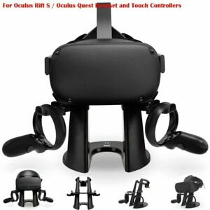 For Oculus Rift S / Oculus Quest Headset VR Stand Headset Display Holder Mount
