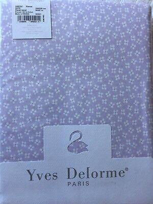 Yves Delorme Un Peu Parme Floral Duvet Cover Set King Ebay